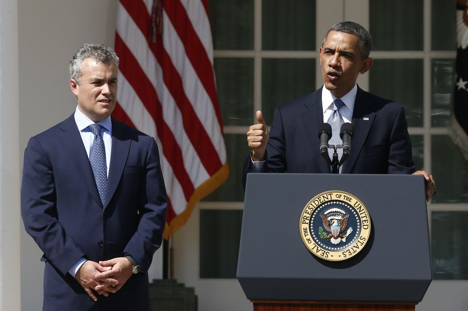 President Obama, with Budget Director Zients, talks about his latest budget proposal.
