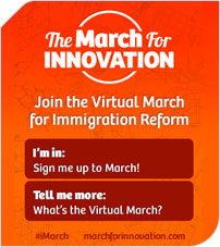 March for Immigration graphic