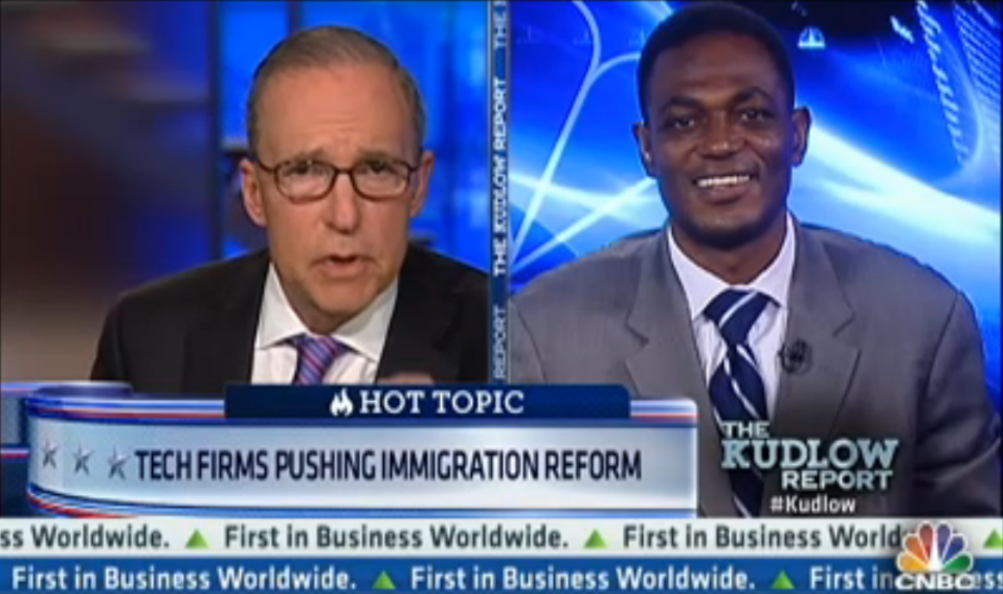 ITI's Dean Garfield on CNBC with Larry Kudlow